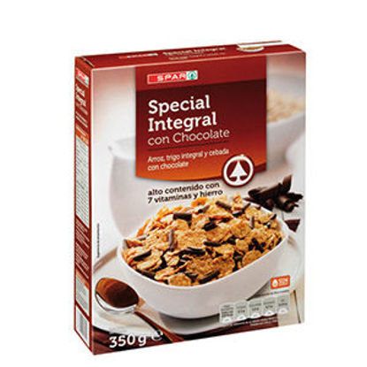 Picture of Cereais SPAR Esp Integ C/ Choc 350gr