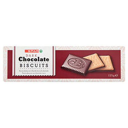 Picture of Bisc SPAR Chocolate Preto 125gr
