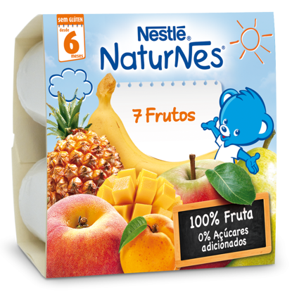 Picture of Fruta NESTLE 7 Frutos 4x100gr