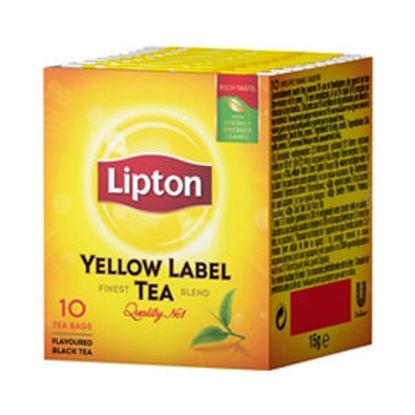 Picture of Cha LIPTON Yellow Label 10 Saquetas