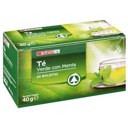 Picture of Chá SPAR Verde C/Menta 20 Saquetas