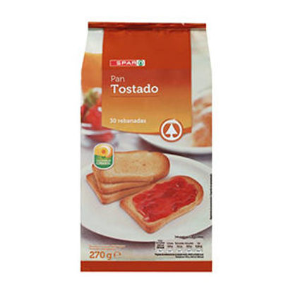 Picture of Tosta SPAR C/Sal 30un 270gr