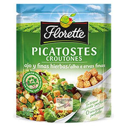 Picture of Picatostes FLORETTE Alho e Ervas 70gr