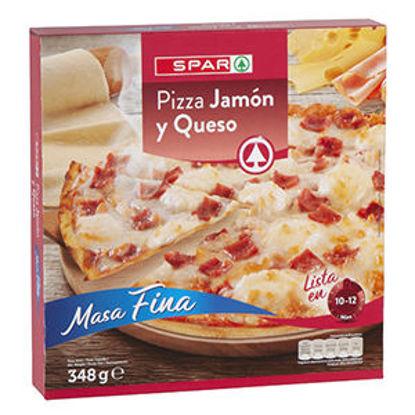 Picture of Pizza SPAR Congelada Queijo e Fiambre 348gr