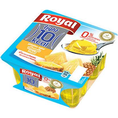 Imagem de Gelatina ROYAL Ananas 10Kcal 4x100gr