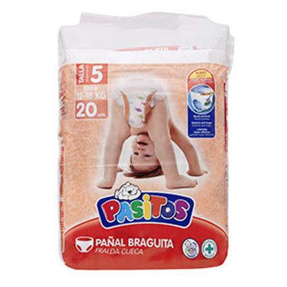 Picture of Fraldas PASITOS Prim Pas T5 12-18 20un