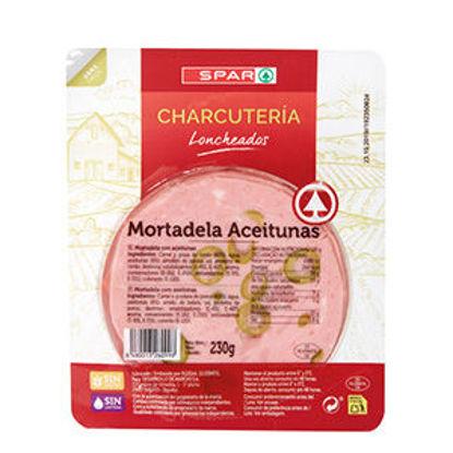 Picture of Mortadela SPAR C/Azeitonas Fatias 230gr