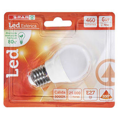 Picture of Lampada SPAR Led 6W E27 3000K 460LM 1un