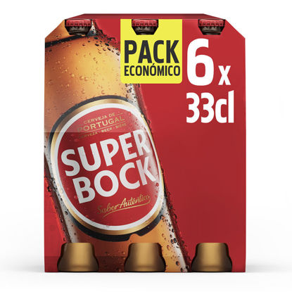 Picture of Cerveja SUPER BOCK Branca 6x0,33lt