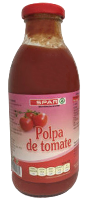 Imagem de Polpa Tomate SPAR Frasco 500gr