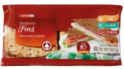 Picture of Pão SPAR Sandwich Thins 310gr