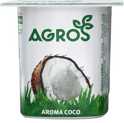 Imagem de Iog AGROS Aroma Coco 120gr
