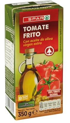 Imagem de Tomate SPAR Frit C/Azeit Virgem Ext Brick 350gr