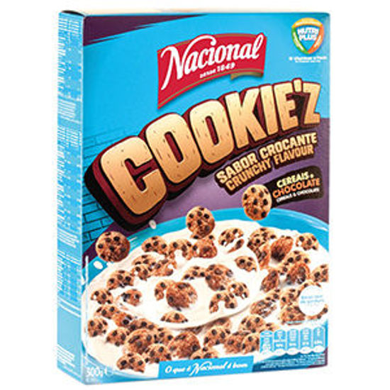 Picture of Cereais NACIONAL Cookie'z 300gr