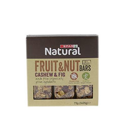 Imagem de Barras Cer SPAR Natural Cashew Figs 3x25gr