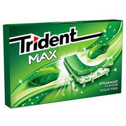 Picture of Past TRIDENT Max Spearmint 23gr