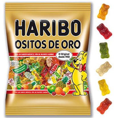 Picture of Gomas HARIBO Ositos Oro 100gr