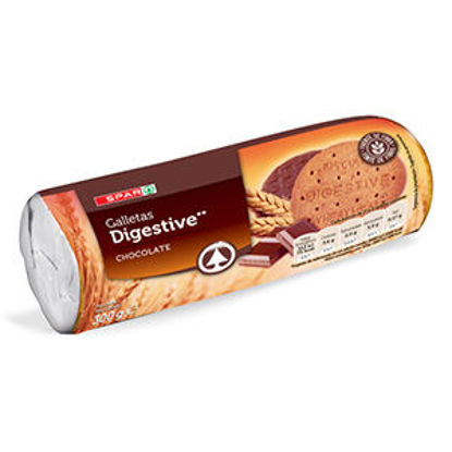Picture of Bolacha SPAR Digestiva Chocolate 300gr