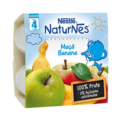 Picture of Puré Fruta NESTLE Maçã Banana 4x100g