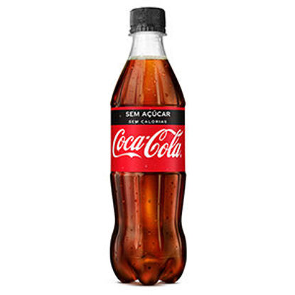 Picture of Refrig COCA COLA Zero Pet 0,5lt