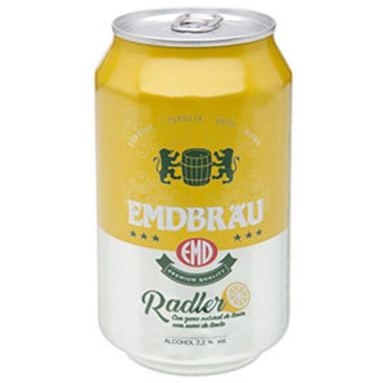Imagem de Cerveja EMDBRAU Radler Limão Lata 0,33lt