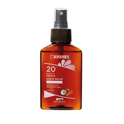 Picture of Óleo Solar SENSATIONS Coco Cenoura FP20 100ml