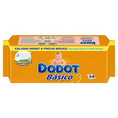 Picture of Toalhitas DODOT Básico 54un