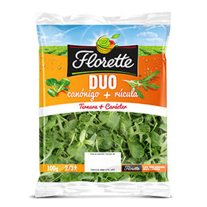 Picture of Duo Canonigo Rucula FLORETTE 100gr