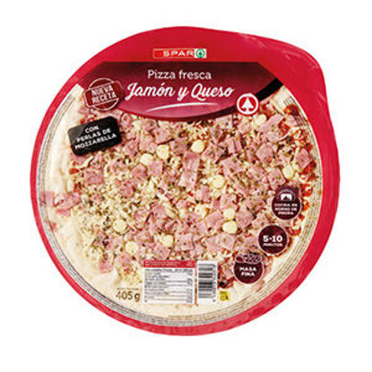 Picture of Pizza SPAR Refrige Fiambre Queijo 405gr