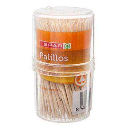 Imagem de Palitos SPAR Redondos 200un
