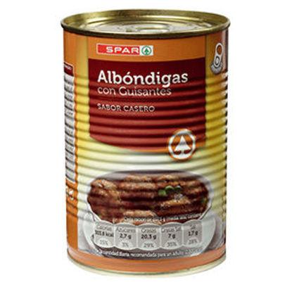 Picture of Almondegas SPAR C/Ervilhas Lata 425gr