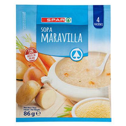 Imagem de Sopa SPAR Instantanea Maravilha 86gr