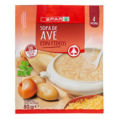 Imagem de Sopa SPAR Instantanea Ave 80gr