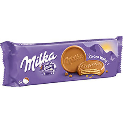 Picture of Bolacha MILKA Choco Wafer Choc Lei 180gr