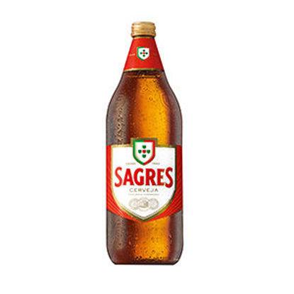 Picture of Cerveja SAGRES Branca 1lt