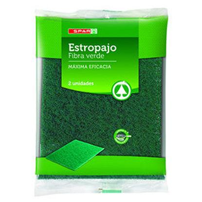Imagem de Esfregao SPAR Lava Loica Fibra Verde 2un