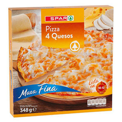 Picture of Pizza SPAR Congelada 4 Queijos 348gr