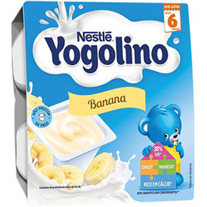 Picture of Iog NESTLE Yogolino Banana 4x100gr