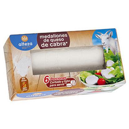 Picture of Queijo Cabra ALTEZA Rolo 6 Porcoes 100gr