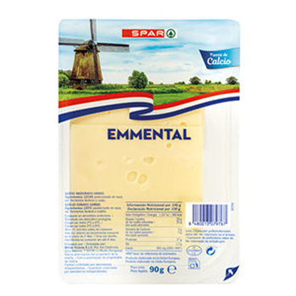 Picture of Queijo SPAR Emmental Fatias 90gr