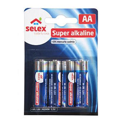 Picture of Pilhas SELEX Alcalinas LR06 4un