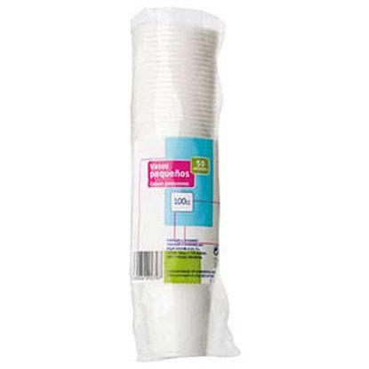 Imagem de Copo Plastico Branco P/Cafe 100cl 50un