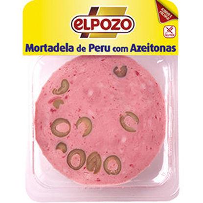 Imagem de Mortadela ELPOZO Peru C/Azeitonas 150gr