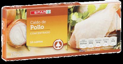 Picture of Caldo SPAR Galinha 12 Cubos