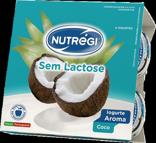 Imagem de Iog NUTREGI S/Lactose Aroma Coco 120gr