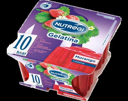 Picture of Gelatina NUTREGI Light Morango 4x100gr