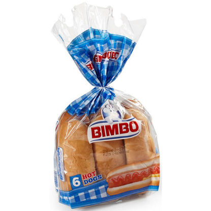 Picture of Pãezinhos BIMBO Hot Dog 300gr