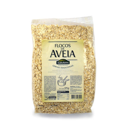 Picture of Cereais SALUTEM Flocos Aveia 375gr