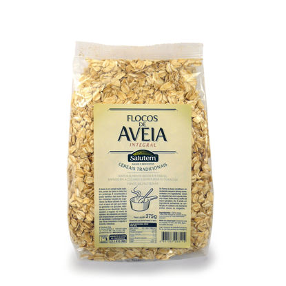 Picture of Cereais SALUTEM Flocos Aveia Integral 375gr