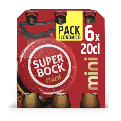 Picture of Cerveja SUPER BOCK 6x0,20lt